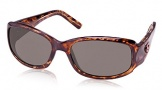 Costa Del Mar Vela Sunglasses Shiny Tortoise Frame Sunglasses - Sunrise CR 39/COSTA 400