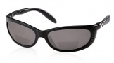 Costa Del Mar Fathom C-Mates Bifocals Sunglasses - Matte Black/Gray 1.75 Polarized Bifocal