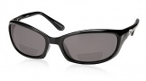 Costa Del Mar Harpoon C-Mates Bifocals Sunglasses - Shiny Black / Gray 1.75 Polarized