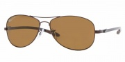 Ray-Ban RB8301 Sunglasses Polarized  Sunglasses - 014/N6 Brown/Crystal Brown