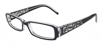 Fendi F664 Eyeglasses Eyeglasses - Black/Crystal (965) 53 size only