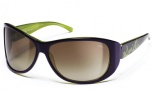 Smith Novella Sunglasses - Violet Green/Brown Gradient