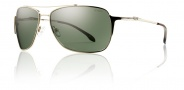 Smith Rosewood Sunglasses Sunglasses - Gold / Polarized Gray Green