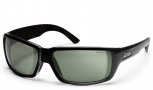 Smith Touchstone Sunglasses Sunglasses - Black/Polar Gray Green