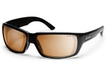 Smith Touchstone Sunglasses Sunglasses - Black/Polarchromic Copper Mirror