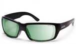 Smith Touchstone Sunglasses Sunglasses - Brown Stripe/Polar Green Mirror