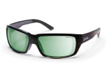 Smith Backdrop Sunglasses - Brown Stripe/Polar Green Mirror