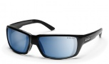 Smith Backdrop Sunglasses - Black/Polar Blue Mirror