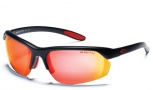 Smith Redline Max Sunglasses - Matte Black/Red Mirror