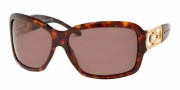 Bvlgari BV 8022B Sunglasses - (851-73) Dark Havana / Brown