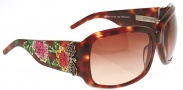 Ed Hardy EHS 001 Skull and Roses Sunglasses - Tortoise