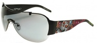 Ed Hardy EHS 003 Japan Sunglasses - Black