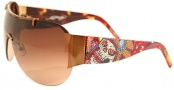 Ed Hardy EHS 003 Japan Sunglasses - Cocoa