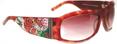 Ed Hardy EHS 007 Alive Aware Sunglasses - Tortoise