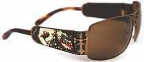 Ed Hardy EHS 017 King of Beasts Dog Sunglasses - Cocoa