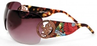 Ed Hardy EHS 024 Beyonce 2 Sunglasses - Tortoise