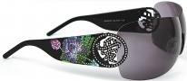 Ed Hardy EHS 024 Beyonce 2 Sunglasses - Black