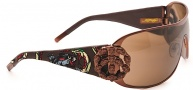 Ed Hardy EHS 038 New York City Sunglasses - Latte