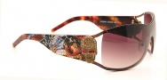 Ed Hardy EHS 045 Death or Glory Los Angeles Sunglasses - Cocoa