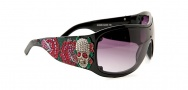Ed Hardy EHS 050 Spider Girl Sunglasses - Black