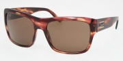 Prada PR 02MS Sunglasses Sunglasses - ZW08C1 Chestnut / Brown