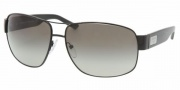 Prada PR 61LS Sunglasses Sunglasses - 7AX3M1 Shiny Black / Gray Gradient