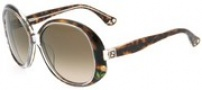 Fendi FS 5012 Sunglasses - 238 Dark Havana / Brown Gradient