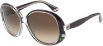 Fendi FS 5012 Sunglasses - 505 Violet / Brown Gradient