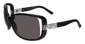 Fendi FS 5004 Sunglasses - 001 Black / Gray