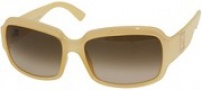 Fendi FS 5003 Sunglasses - 275 Creamy Beige / Brown Gradient