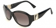 Fendi FS 5001 Sunglasses - 001 Black / Gray Gradient