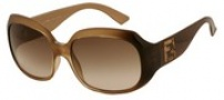 Fendi FS 501 Sunglasses - 718 Light Havana / Brown Gradient