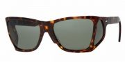 Persol PO 0009 Sunglasses Sunglasses - (24/31) Havana / Crystal Green