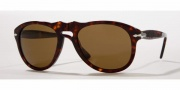 Persol PO 0649 Sunglasses Sunglasses - (24/57) Havana / Crystal Brown Polarized