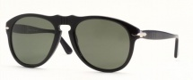 Persol PO 0649 Sunglasses Sunglasses - (24/31) Havana / Crystal Green