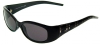 Fendi FS 301 Sunglasses - 001 Black / Gray