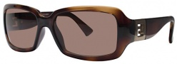 Fendi FS 451 Sunglasses - 238 Dark Havana / Brown