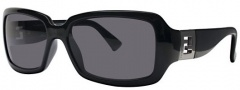 Fendi FS 451 Sunglasses - 001 Black / Gray