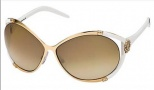 Roberto Cavalli Taigete Sunglasses - OD26 White Gold / Brown Gradient