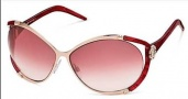 Roberto Cavalli Taigete Sunglasses - OU13 Red Rose / Red Gradient