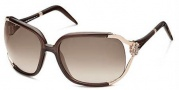 Roberto Cavalli Talisia 370 Sunglasses Sunglasses - O483 White Gold / Brown Gradient
