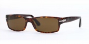 Persol PO 2747S Sunglasses Sunglasses - (24/47) Havana / Crystal Polarized Brown