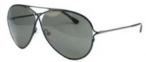 Tom Ford FT0142 Sunglasses Sunglasses - O01N Shiny Black