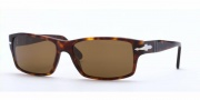 Persol PO 2761S Sunglasses Sunglasses - (24/57) Havana / Crystal Brown Polarized