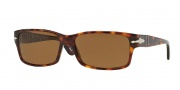 Persol PO 2803S Sunglasses Sunglasses - (24/57) Havana / Crystal Brown Polarized