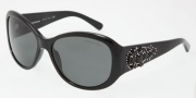 Dolce & Gabbana 4078G Sunglasses Sunglasses - 501/87 Shiny Black / Gray