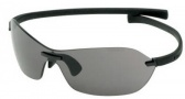 Tag Heuer Rimless Curve 5107 Sunglasses (Zenith) Sunglasses - 107 Black Chrome / Gray Lenses