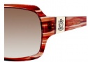 Juicy Couture Glitterati Sunglasses Sunglasses - 0EE8 Copper Sparkle (80 brown gradient lens)