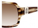 Juicy Couture Glitterati Sunglasses Sunglasses - 0EE9 Smoky Brown Sparkle (Y6 brown gradient lens) (Discontinued Color NLA)