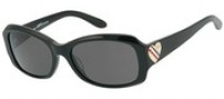 Juicy Couture Sweet Sunglasses Sunglasses - 0807 Black (BM dark gray lens)